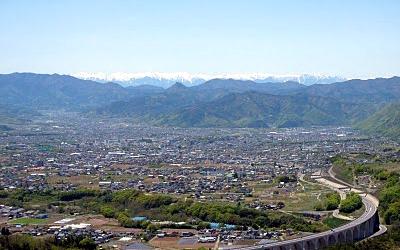 信州上田の風景
